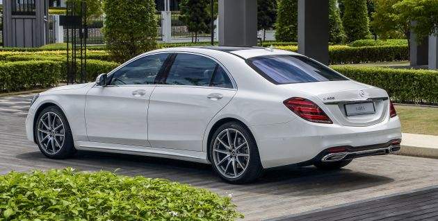 W222 Mercedes Benz S Class Facelift Launched In Malaysia S450 L