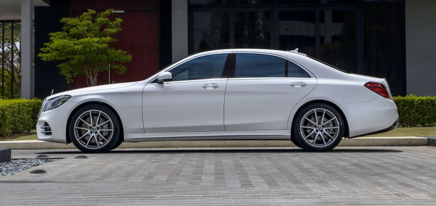 W222 Mercedes-Benz S-Class facelift launched in Malaysia – S450 L, 9G-Tronic, 3.0L V6, RM699,888 Image #845668
