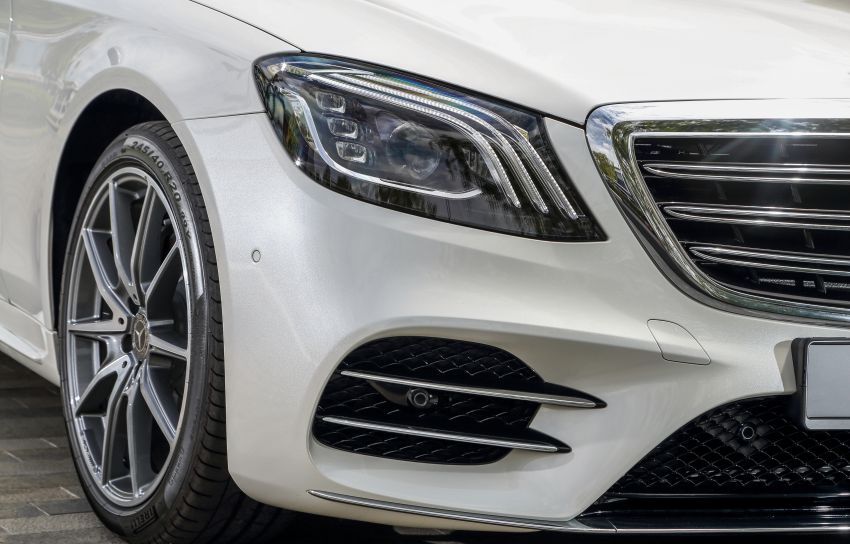 W222 Mercedes-Benz S-Class facelift launched in Malaysia – S450 L, 9G-Tronic, 3.0L V6, RM699,888 Image #845670