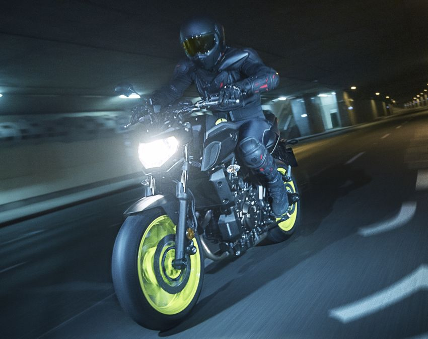2019 Yamaha MT-07 in Malaysia during third quarter? Image #848523