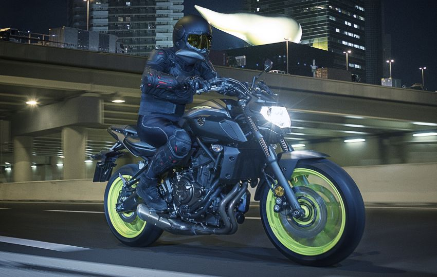 2019 Yamaha MT-07 in Malaysia during third quarter? Image #848511