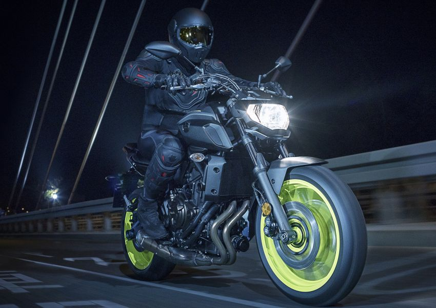 2019 Yamaha MT-07 in Malaysia during third quarter? Image #848516