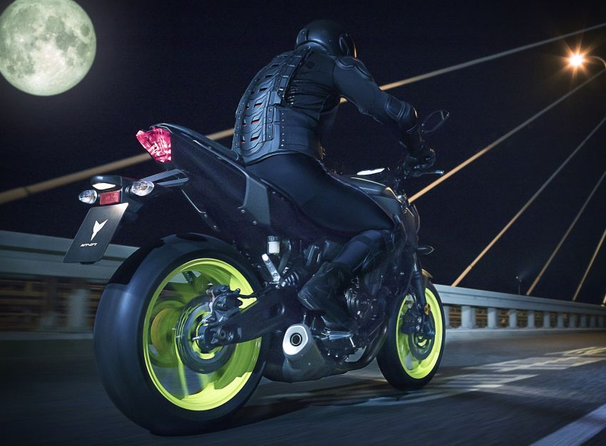 2019 Yamaha MT-07 in Malaysia during third quarter? Image #848519