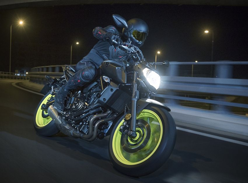 2019 Yamaha MT-07 in Malaysia during third quarter? Image #848521