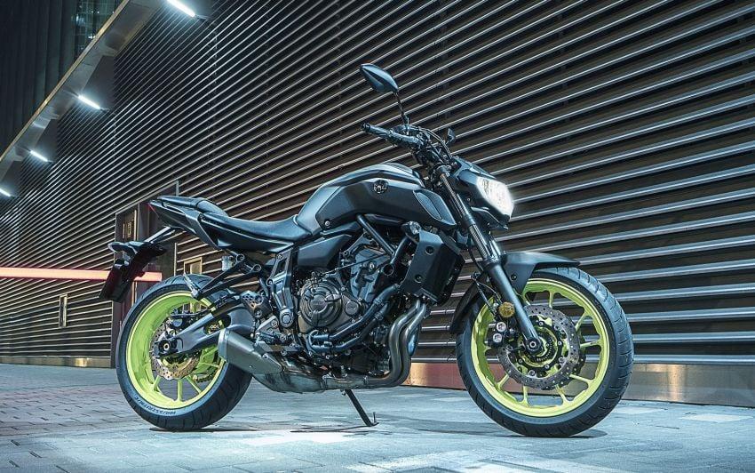 2019 Yamaha MT-07 in Malaysia during third quarter? Image #848562