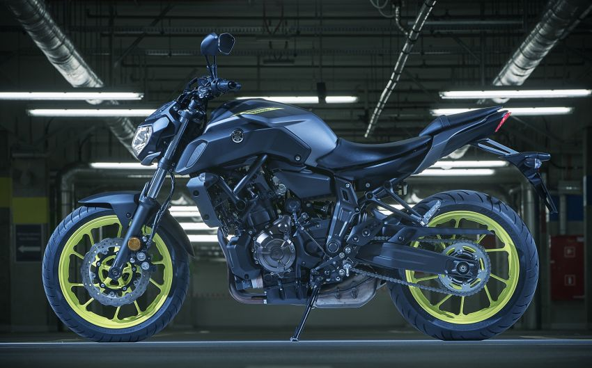 2019 Yamaha MT-07 in Malaysia during third quarter? Image #848563