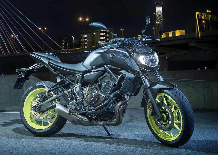 2019 Yamaha MT-07 in Malaysia during third quarter? Image #848565