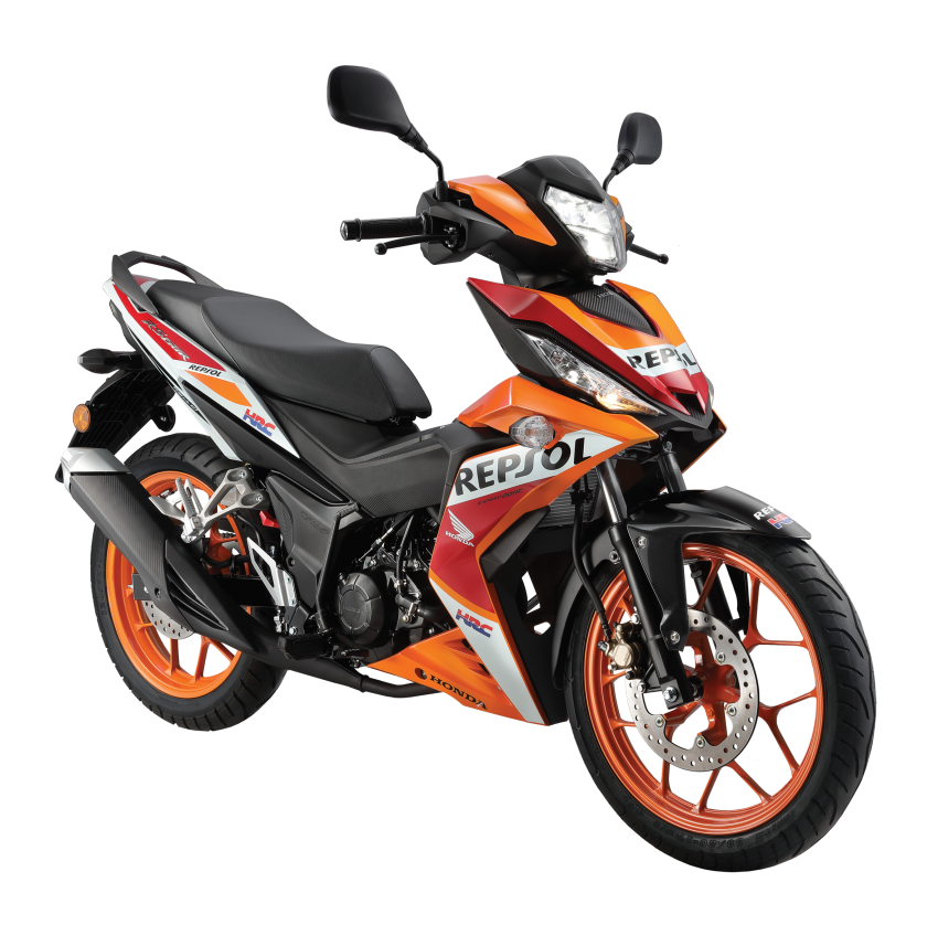 2018 Honda RS150R in new colours  – from RM7,999 Image #846990