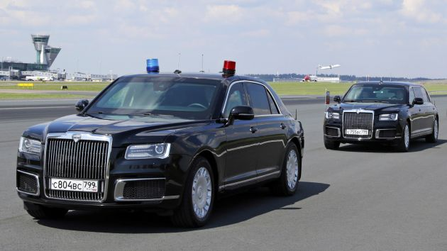 Aurus Senat Is Vladimir Putin S New Presidential Car Paultan Org