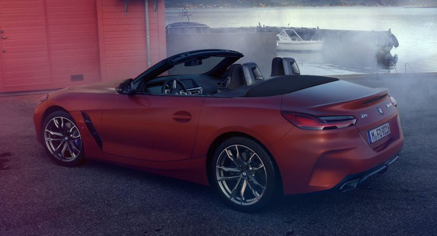 2019 Bmw Z4 Official Images Of G29 M40i Leaked