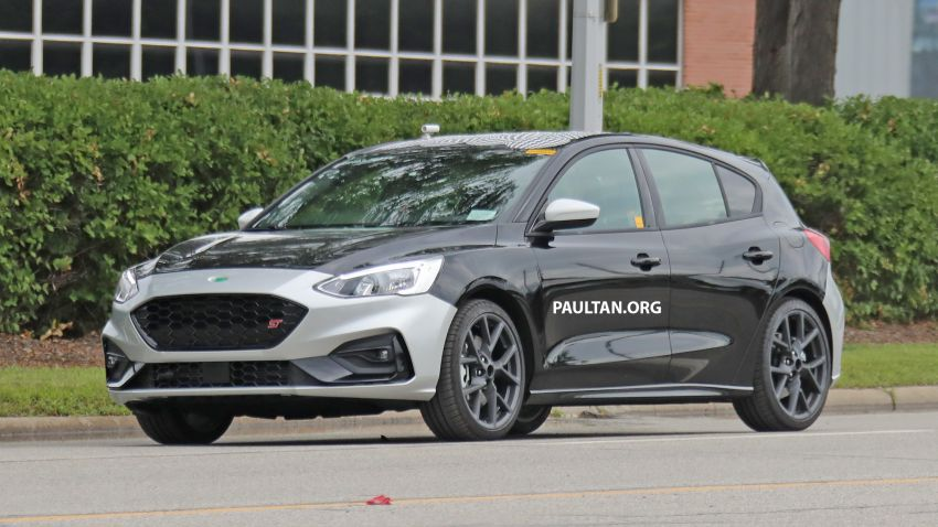 SPIED: 2019 Ford Focus ST – 275 hp from 1.5L 3-cyl? Image #853927