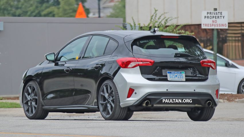 SPIED: 2019 Ford Focus ST – 275 hp from 1.5L 3-cyl? Image #853940