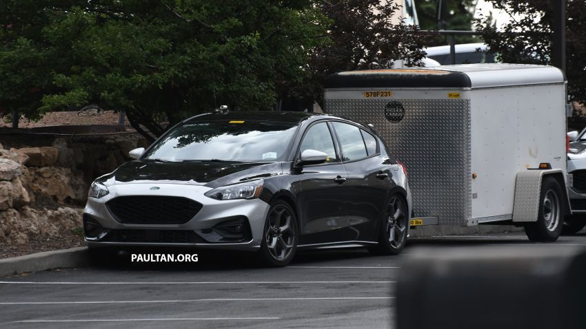 SPIED: 2019 Ford Focus ST – 275 hp from 1.5L 3-cyl? Image #853947