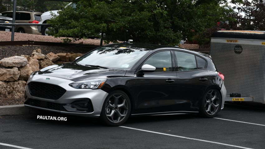 SPIED: 2019 Ford Focus ST – 275 hp from 1.5L 3-cyl? Image #853948