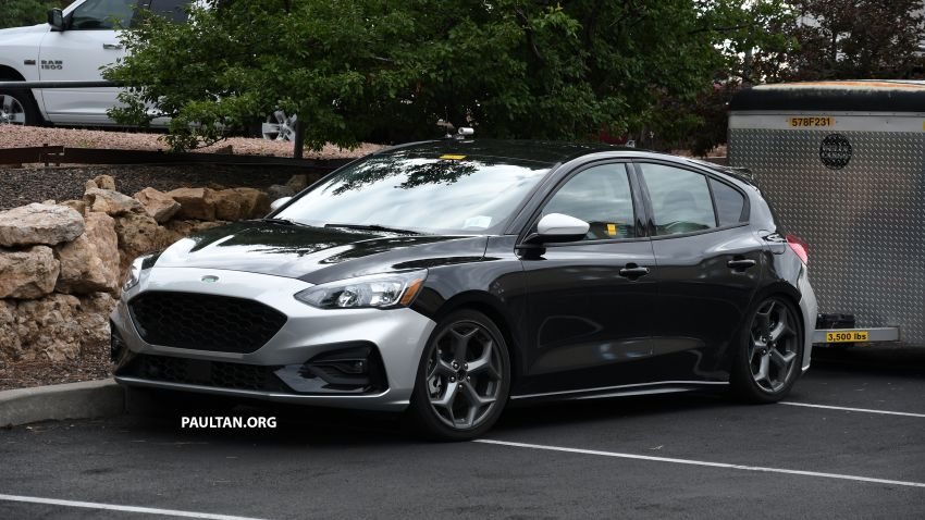 SPIED: 2019 Ford Focus ST – 275 hp from 1.5L 3-cyl? Image #853955