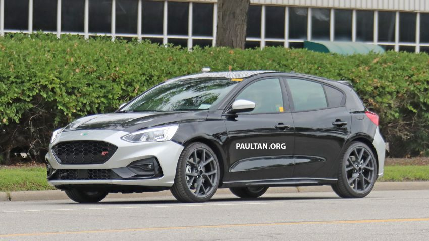SPIED: 2019 Ford Focus ST – 275 hp from 1.5L 3-cyl? Image #853929
