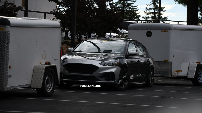 SPIED: 2019 Ford Focus ST – 275 hp from 1.5L 3-cyl? Image #853956