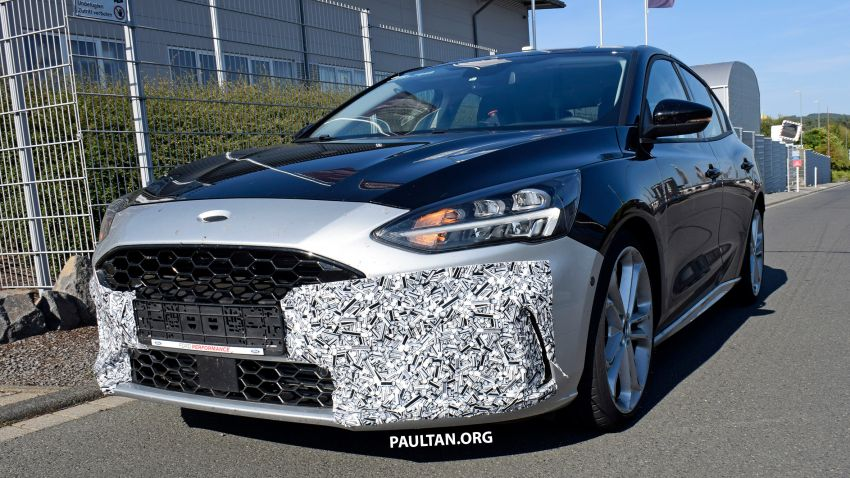 SPIED: 2019 Ford Focus ST – 275 hp from 1.5L 3-cyl? Image #853958