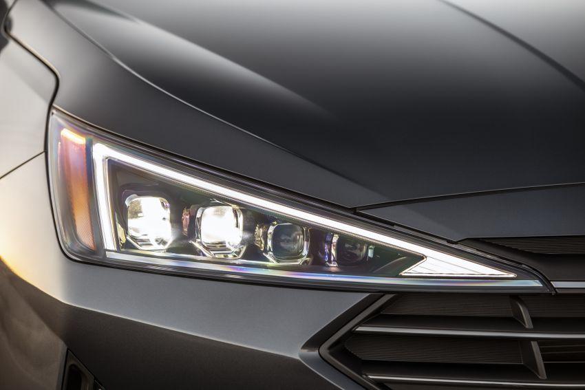 2019 Hyundai Elantra Facelift – new looks, safety tech Image #853204