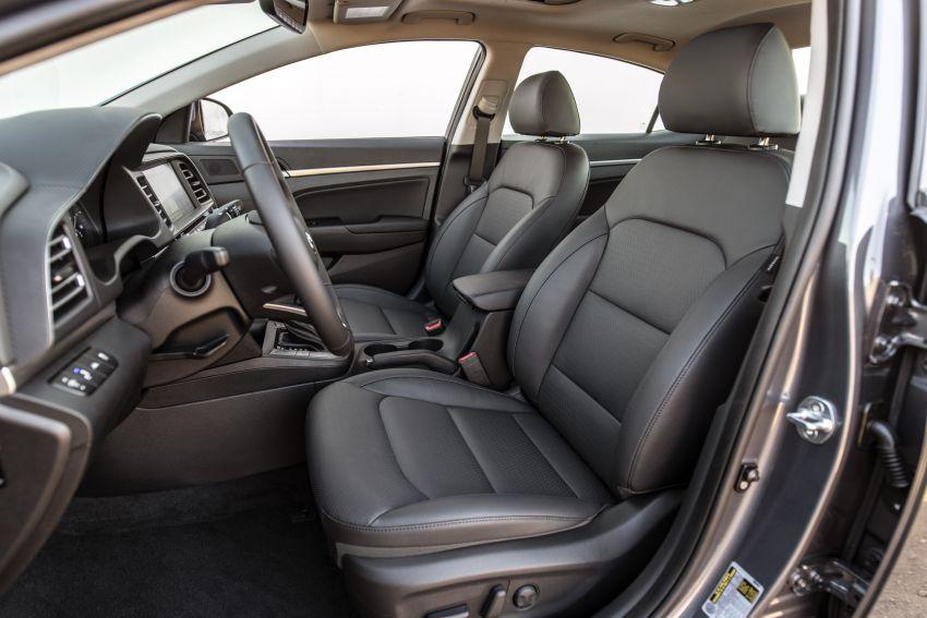 2019 Hyundai Elantra Facelift – new looks, safety tech Image #853210