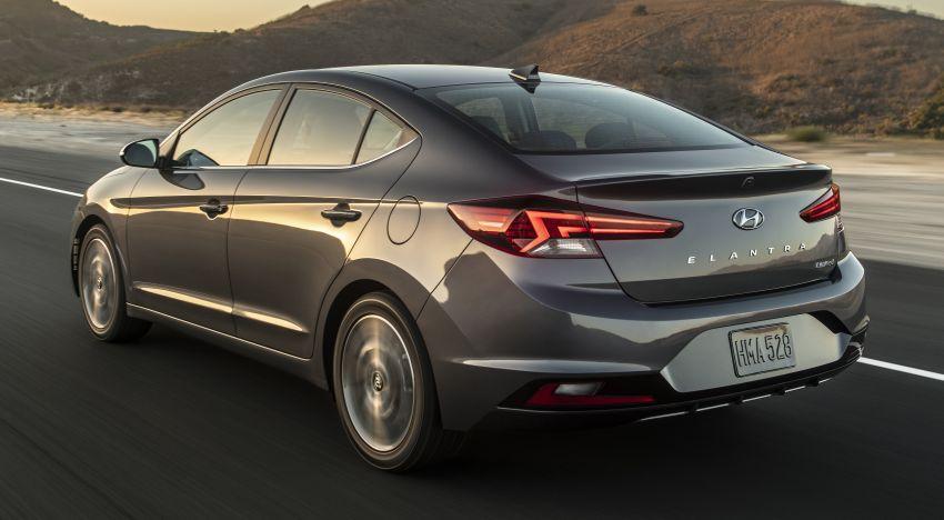 2019 Hyundai Elantra Facelift – new looks, safety tech Image #853224