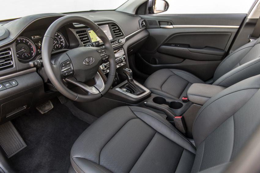 2019 Hyundai Elantra Facelift – new looks, safety tech Image #853196