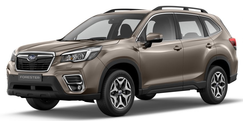 2019 Subaru Forester officially launched in Taiwan – four variants offered, 2.0L CVT, EyeSight system Image #847965