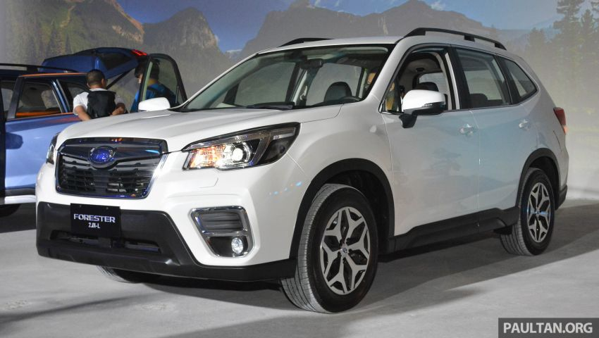 2019 Subaru Forester officially launched in Taiwan – four variants offered, 2.0L CVT, EyeSight system Image #848305