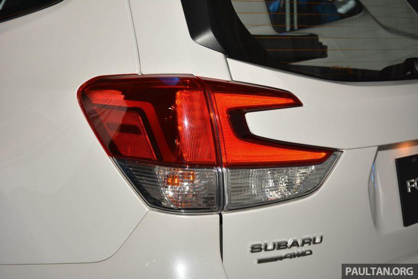 Subaru Forester 2019 dilancar di Taiwan – empat varian ditawarkan, enjin 2.0L CVT, sistem EyeSight Image #848443