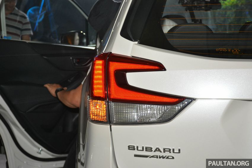 2019 Subaru Forester officially launched in Taiwan – four variants offered, 2.0L CVT, EyeSight system Image #848318