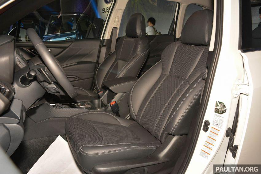 Subaru Forester 2019 dilancar di Taiwan – empat varian ditawarkan, enjin 2.0L CVT, sistem EyeSight Image #848451
