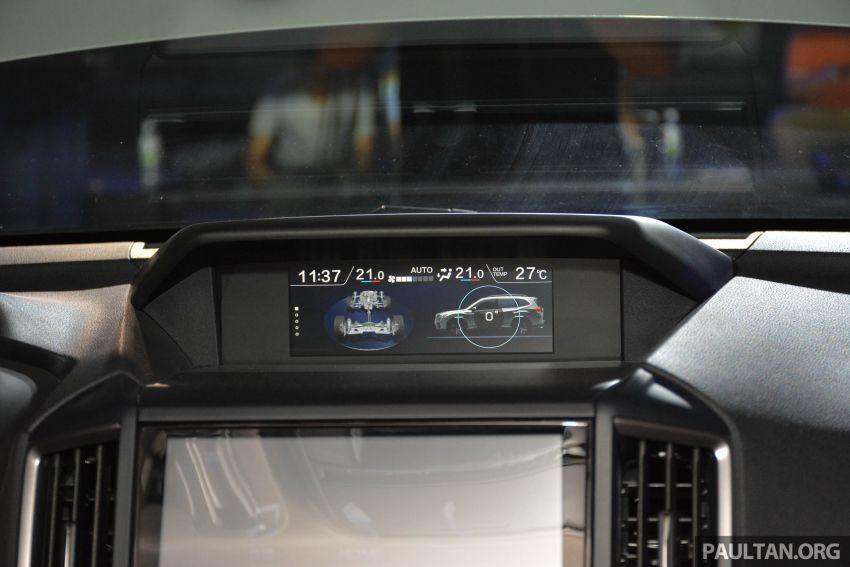 Subaru Forester 2019 dilancar di Taiwan – empat varian ditawarkan, enjin 2.0L CVT, sistem EyeSight Image #848454