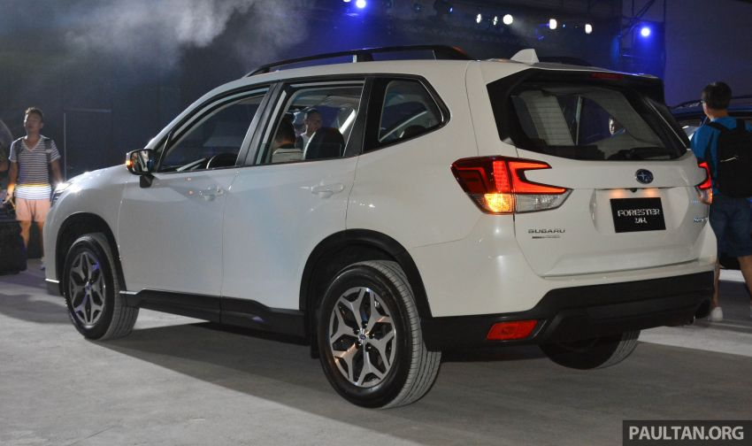 2019 Subaru Forester officially launched in Taiwan – four variants offered, 2.0L CVT, EyeSight system Image #848306