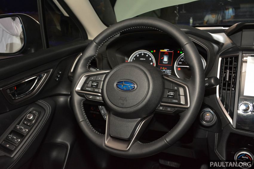 Subaru Forester 2019 dilancar di Taiwan – empat varian ditawarkan, enjin 2.0L CVT, sistem EyeSight Image #848458