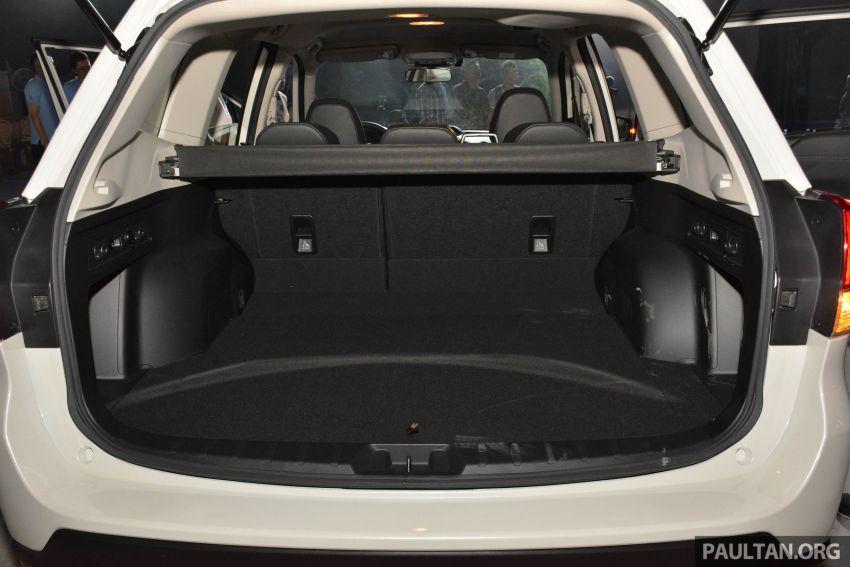 Subaru Forester 2019 dilancar di Taiwan – empat varian ditawarkan, enjin 2.0L CVT, sistem EyeSight Image #848464