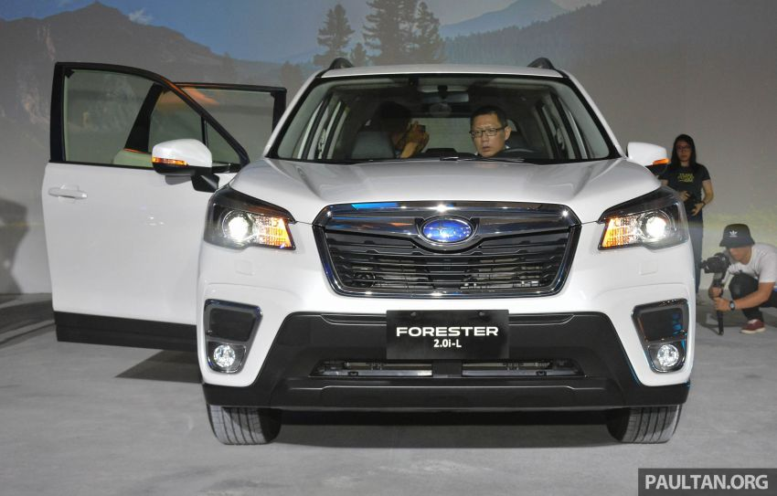 Subaru Forester 2019 dilancar di Taiwan – empat varian ditawarkan, enjin 2.0L CVT, sistem EyeSight Image #848433