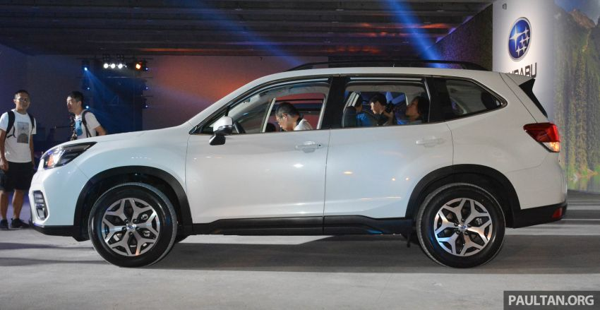 2019 Subaru Forester officially launched in Taiwan – four variants offered, 2.0L CVT, EyeSight system Image #848311
