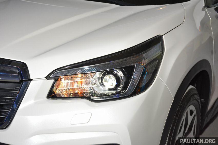 Subaru Forester 2019 dilancar di Taiwan – empat varian ditawarkan, enjin 2.0L CVT, sistem EyeSight Image #848437