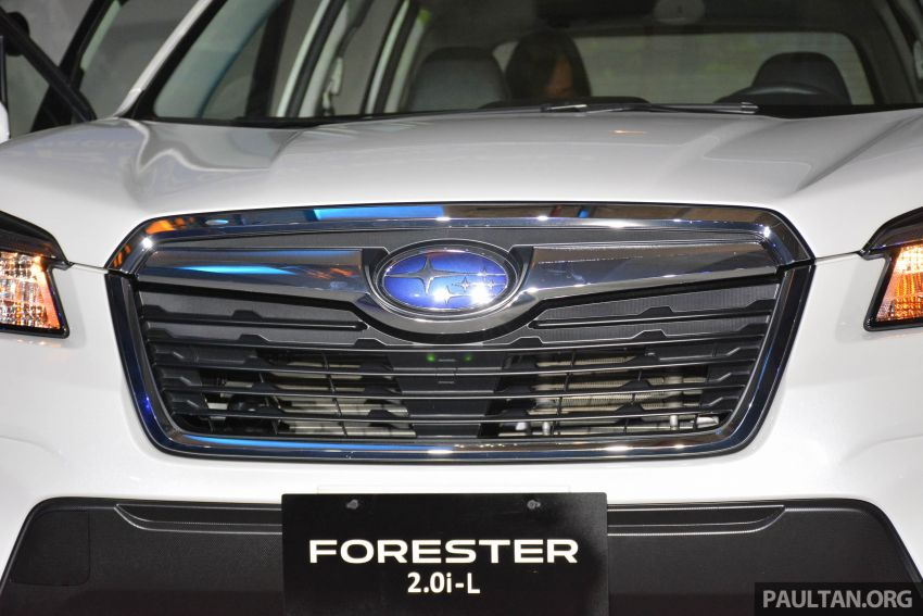 2019 Subaru Forester officially launched in Taiwan – four variants offered, 2.0L CVT, EyeSight system Image #848315