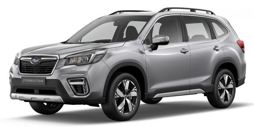 Subaru Forester 2019 dilancar di Taiwan – empat varian ditawarkan, enjin 2.0L CVT, sistem EyeSight Image #848276