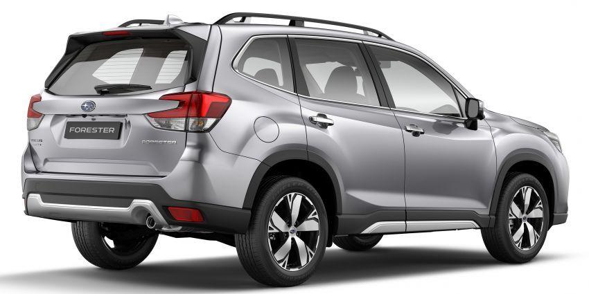 Subaru Forester 2019 dilancar di Taiwan – empat varian ditawarkan, enjin 2.0L CVT, sistem EyeSight Image #848277