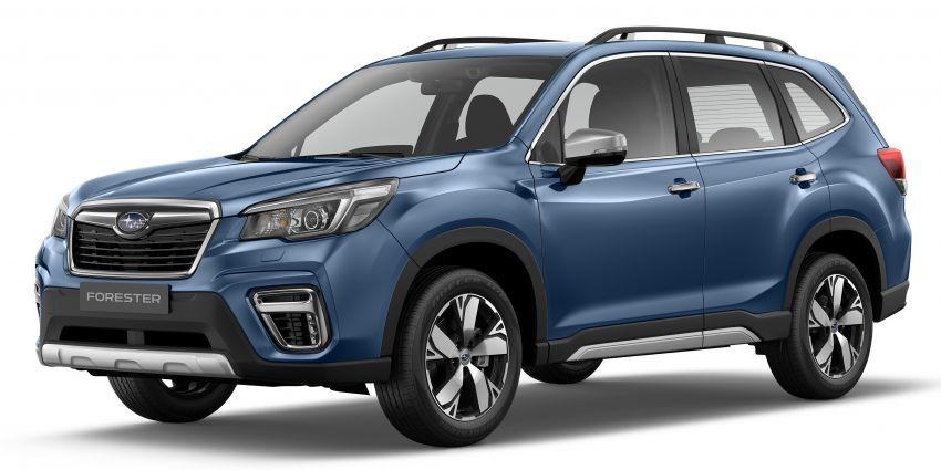 Subaru Forester 2019 dilancar di Taiwan – empat varian ditawarkan, enjin 2.0L CVT, sistem EyeSight Image #848278