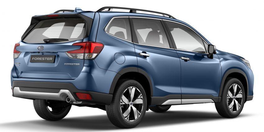 Subaru Forester 2019 dilancar di Taiwan – empat varian ditawarkan, enjin 2.0L CVT, sistem EyeSight Image #848279