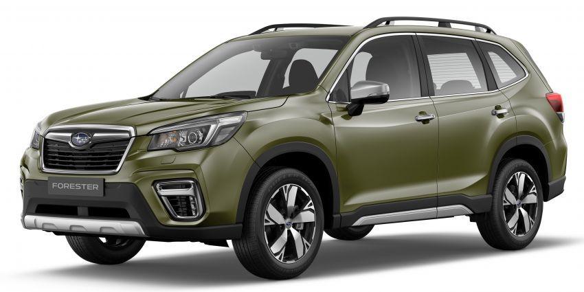 Subaru Forester 2019 dilancar di Taiwan – empat varian ditawarkan, enjin 2.0L CVT, sistem EyeSight Image #848280