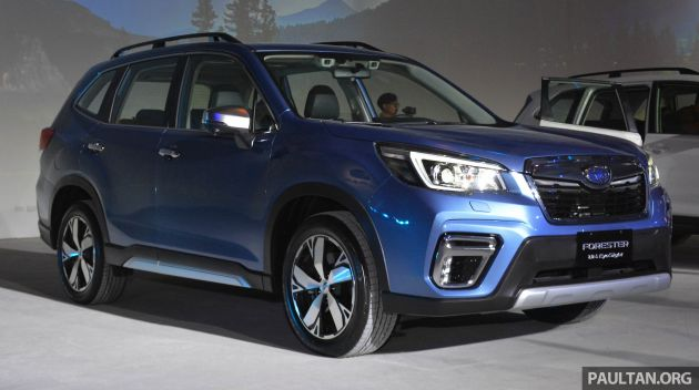 Subaru Xv 2018 Dark Blue >> New Subaru Forester coming to Malaysia in mid-2019 with EyeSight; XV to get active safety suite ...