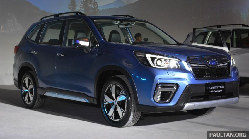 2019 Subaru Forester officially launched in Taiwan – four variants offered, 2.0L CVT, EyeSight system Image #848378
