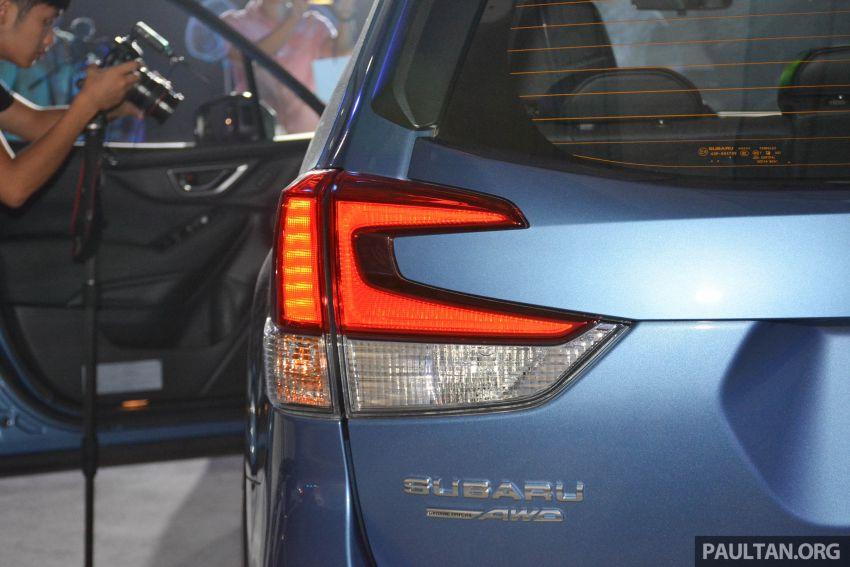 Subaru Forester 2019 dilancar di Taiwan – empat varian ditawarkan, enjin 2.0L CVT, sistem EyeSight Image #848558