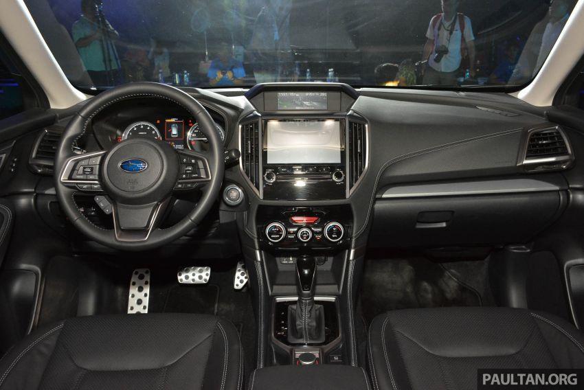 Subaru Forester 2019 dilancar di Taiwan – empat varian ditawarkan, enjin 2.0L CVT, sistem EyeSight Image #848561