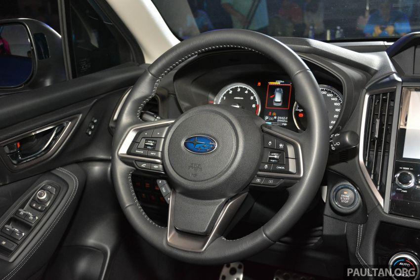Subaru Forester 2019 dilancar di Taiwan – empat varian ditawarkan, enjin 2.0L CVT, sistem EyeSight Image #848564