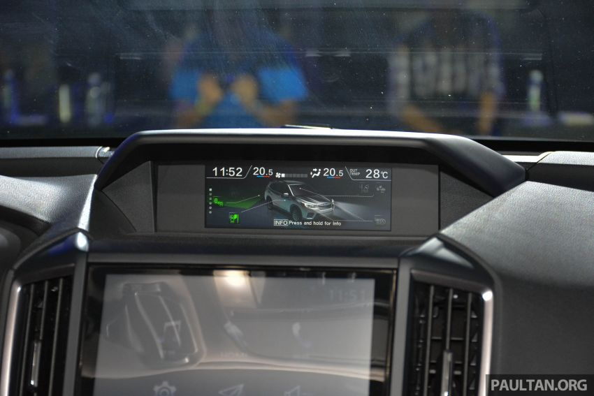 Subaru Forester 2019 dilancar di Taiwan – empat varian ditawarkan, enjin 2.0L CVT, sistem EyeSight Image #848569